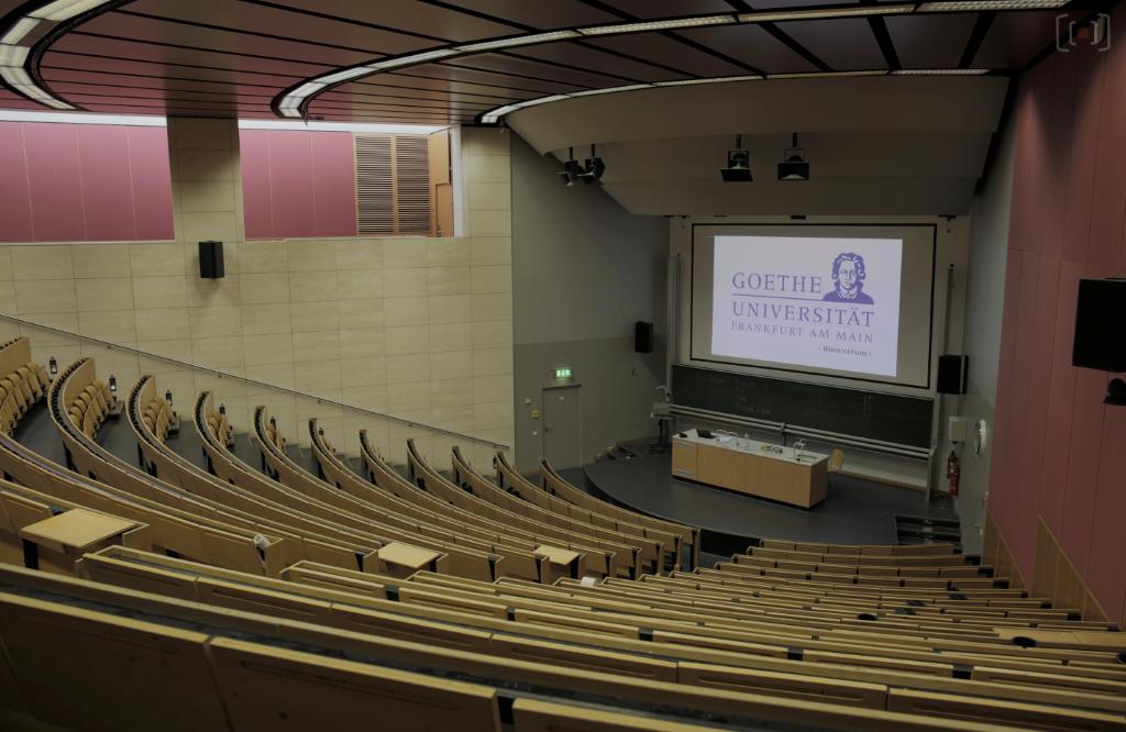 Campus Riegberg - Biozentrum - Hörssal B1